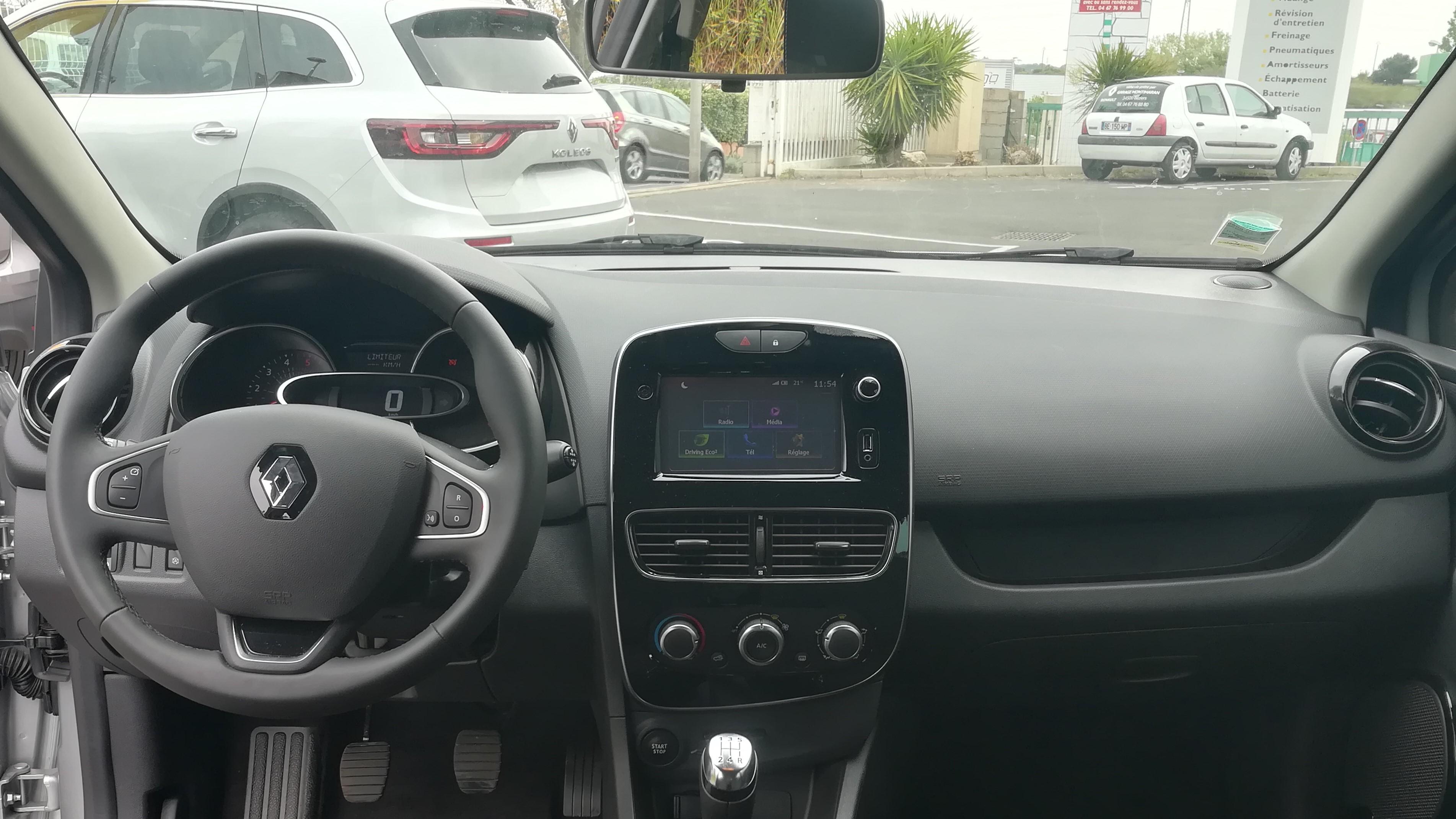 interieur Renault Clio IV