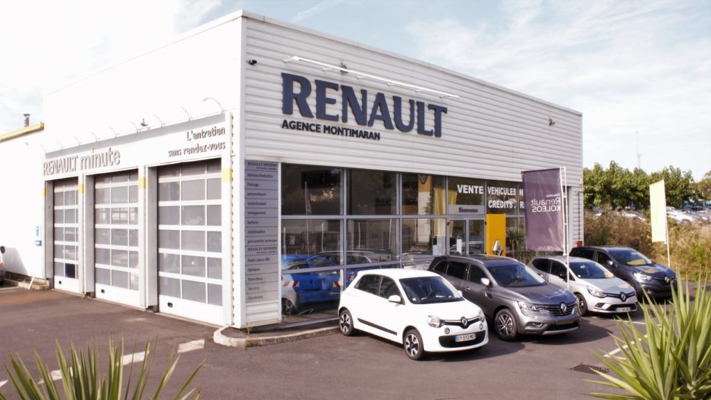 LV2V Renault Montimaran garage atelier