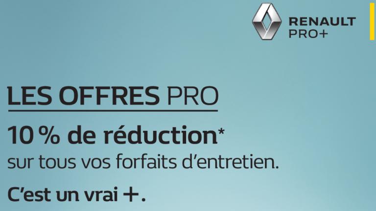 Entretien forfaits pro+