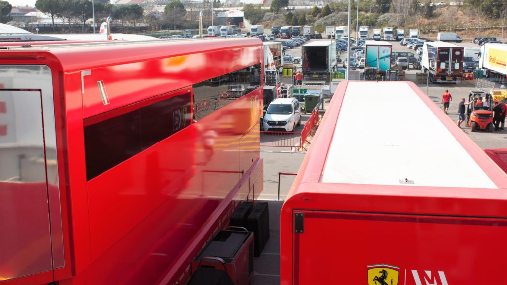 Formule 1 Parc Camions