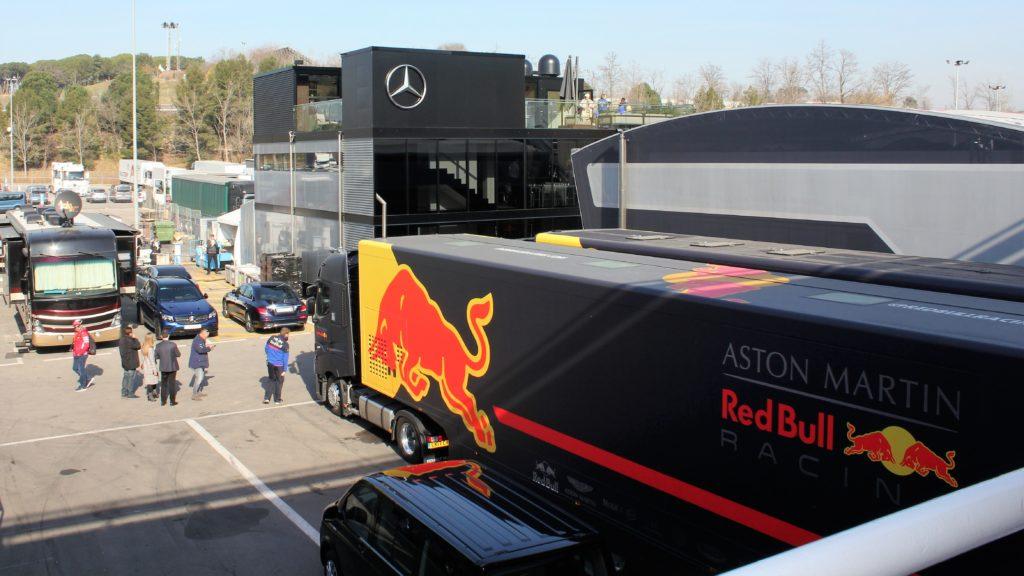 Formule 1 - Parc des Camions Logistiques